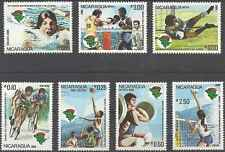 Timbres Sports Nicaragua 1195/8 PA986/8 ** lot 1896