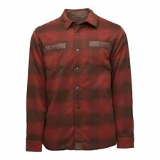 NEW!! 2020 Mens Flylow Sinclair Insulated Flannel Shirt-Lge-Bison