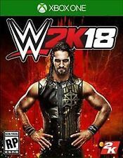 WWE 2K18 Pre-Order for Xbox One Brand New!