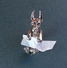 Doberman Dog Wrap Around Ring