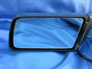 Datsun Nissan 300ZX Z31 84 - 89 LEFT Side Exterior Mirror BLACK Nice OEM
