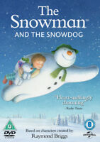The Snowman and the Snowdog DVD (2016) Hilary Audus cert U ***NEW*** Great Value
