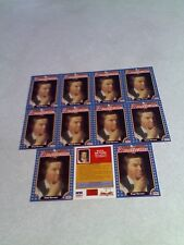 *****Paul Revere*****  Lot of 11 cards / 1992 Americana