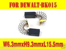 Carbon Brushes For Dewalt B&D BK015 400814-00 DW157 5140 7616 Router Drill Press