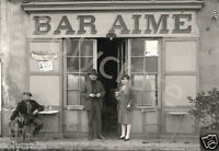 Photo ancien commerce de Toulouse Café bistro Bar Aimé- tirage repro an. 1920