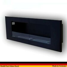 Ethanol Firegel Fireplace Cheminee Caminetti Camino Paris Deluxe Royal Black