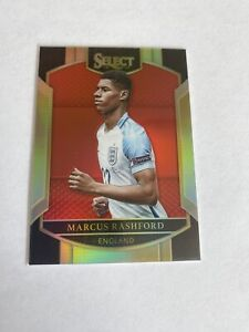 2016-17 Select Soccer * Marcus RASHFORD * /199 RED Prizm ROOKIE