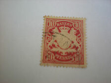 Deutsches Reich -  10  Pfennig  Bayern