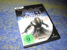 Star Wars-The Force Unleashed-Ultimate Sith Edition PC con manuale