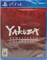 Yakuza Remastered Collection - (Sony Playstation 4/PS4) Brand New Factory Sealed