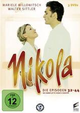 3 DVDs  * NIKOLA - DIE 4. STAFFEL |  MILLOWITSCH & SITTLER # NEU OVP B&