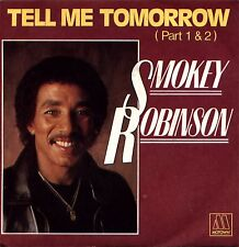 45T - SMOKEY ROBINSON / tell me tomorrow