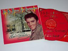 Elvis' 1999 Graceland Fan Club President Only CD. Mint & Unplayed.