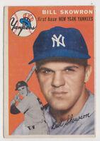 1954 Topps #239 Bill Skowron Rookie - New York Yankees, Excellent Condition!