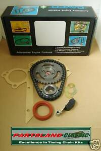 Timing Chain & Gears Autocars Sussita Ford Kent Prefect Marcos 1500 1600 1650