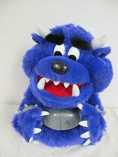 DONT FREE FREDDY PURPLE  PLUSH TALKING MONSTER HANDCUFFS  2001 SPIN MASTER