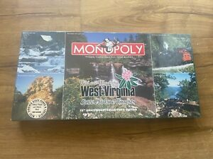 USAOpoly Monopoly - Wild and Wonderful West Virginia State Parks NEW SEALED
