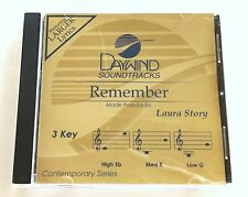 Daywind - Laura Story - Remember - accompaniment track christian cd - new 8263D