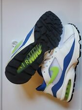 Nike Air Max 93 History of Air(W)(2005)COLORWAY(WHITE/LASER LIME)Size(11)(NWOT)