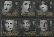 Great Britain 2008 Women of Distinction set of 6 Mint Unhinged