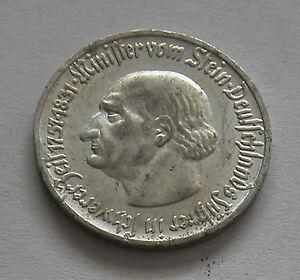 Weimar republic 50 PFENNIG Notgeld Westfalen 1921