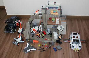 Playmobil Agenten: 4875 Hauptquartier mit 4876, 4878, XXL Set