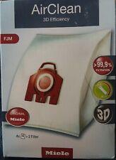 Miele Air Clean/Hyclean 3D Efficiency Dust Bag, Type FJM, 4 Bags & 2 Filters