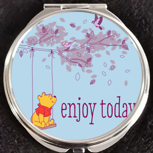 Swing Enjoy Today Winnie the Pooh Disney Gift Beauty Makeup Compact Mirror