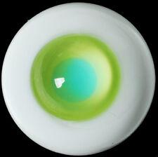 Nice Yellow-Green Iris 18mm Glass Eyes for Joint Reborn/NewBorn BJD Dollfie