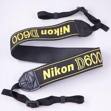 Genuine Nikon AN-DC8 Wide Neck & Shoulder Strap for D600 Camera DSLR #Q57