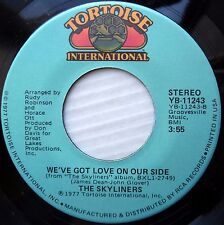 SKYLINERS soul 45 WE'VE GOT LOVE ON OUR SIDE OH HOW HAPPY mint minus  F223
