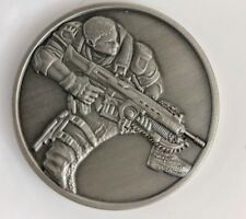 Rare Gears of War 4 Video Game 3D Metal Challenge Coin Military Exclusive