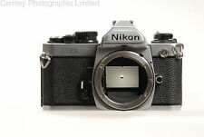 Nikon FM2n 35 mm SLR Caméra Corps en chrome. condition – 6E [5583]