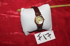 Vintage FOSSIL TWEETY BIRD WATCH Mother of Pearl Face F17