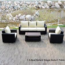 Rattan Patio Garden Furniture Sets Ebay