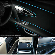 5 Meters Car Styling Moulding Decorative Filler Strip Interior Exterior Set Blue