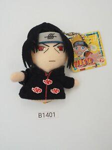 "Naruto B1401 Itachi Finger Puppet POPY 2006 Mascot 3"" Keychain Plush Toy Japan"