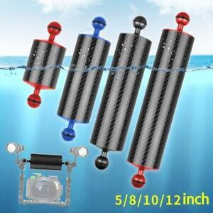 60mm Carbon Fiber Float Buoyancy Aquatic Arm Dual Ball Floating Arm Diving Tray