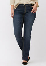 Seven 7 Melissa McCarthy Dark Straight Leg Jeans PLUS Size 26 4X Lane Bryant NeW