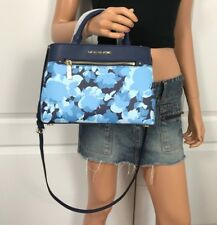 NWT MICHAEL KORS BAG HAILEE XS X SMALL SATCHEL NAVY FLORAL SHOULDER CROSSBODY