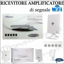 AMPLIFICATORE ANTENNA ULTRA POTENTE WIFI RICEZIONE WIRELESS 5800mW INTERNET