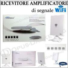 AMPLIFICATORE WIFI USB Wireless 58dbi RICEVITORE RICEZIONE WIRELESS 5800mW