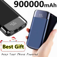 Portable 900,000mAh Power Bank Best Choice 2USB Polymer Backup Battery Charger