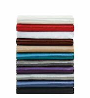 Chezmoi Collection 4-piece Bridal Satin Solid Color Sheet Set