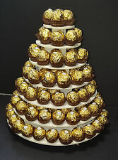 Soporte de 7 pisos Ferrero Rocher Boda Cumpleaños Dulce ocaision especial