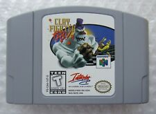 Clay Fighter 63 1/3 Nintendo 64 N64 Authentic Video Game Cart Fighting OEM GREAT
