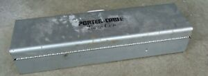 vintage porter cable tiger cub reciprocating saw metal steel tool box carrying