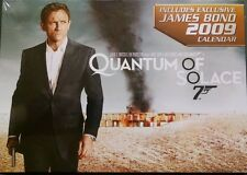 QUANTUM of SOLACE and James Bond 2009 Collectible Calendar (DVD,2008)