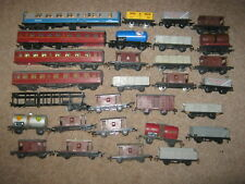 29 Lima Jouef HO Gauge Coaches Wagons Vans Tankers for Spares or Repair Job Lot