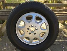 Genuine!NEW! Mercedes 8 Hole Alloy Wheel AND NEW TYRE RUN FLAT.ET55.265/40R
